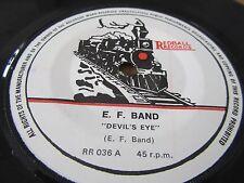 "E F BAND - THE DEVILS EYE  - ( wraparound sleeve ) - 7"" vinyl Single"