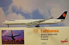 Herpa Wings 1:500 Airbus A340-600 Lufthansa D-AIHD  507417-003 Modellairport500