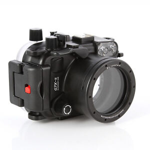 Meikon 40m Waterproof Underwater Housing Case For Canon PowerShot G7X Mark II