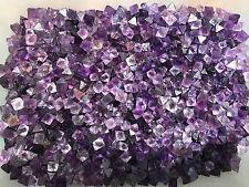 Awesome! 50g/40-45Pcs Purple Fluorite Octahedron Rough Specimen Mineral