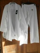 ensemble kimono WKF ADIDAS karaté judo - blanc - taille 195 cm - neuf