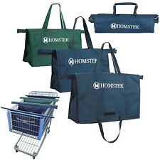 Reusable Trolley Shopping Cart Bags Grocery Organizer for Trolley Shopping Carts