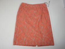 Womens Skirts Alex Marie Tigerlilly/Sand Resort Getaway 100% Nylon size 2