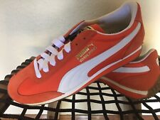 New! Puma Whirlwind Men's Shoes Sneakers Orange Sz 8