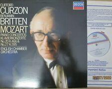 SXL 7007 Mozart Piano Concertos  Nos 20 & 27 / Curzon / Britten / ECO