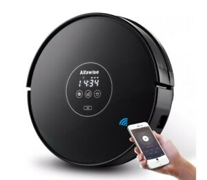 Alfawise X5 Robotic Vacuum Cleaner Strong Suction Work with Alexa  Wet Mopping