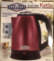 AMERICANA Classics Electric Kettle Cordless with Base
