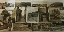 More details for lot of old black & white postcards of cornwall