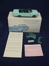 West Coast Precision 1962 Chevy Impala Conv. Twilight Turquoise  WCPD 57/100