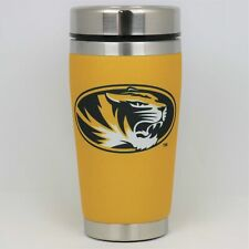 Missouri Tigers Mugzie NCAA Stainless Steel 16oz Travel Tumbler Coffee Mug Cup