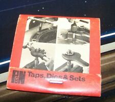 Rare Vintage Matchbook P & N Australia Canada Singapore Tapwrenches Dies Sets