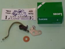 BSA C15  A50 A65 TRIUMPH T20 T120 POINTS CONTACT SET GENUINE LUCAS 4CA 54415803