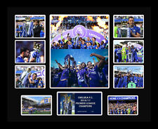 New Chelsea 2016/17 Premier League Champions Signed Limited Edition Memorabilia