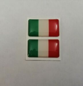 ITALY ITALIAN FLAG 3D DOMED BADGE LOGO EMBLEM STICKER GRAPHIC DECAL CAR STYLING