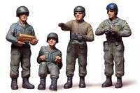 Tamiya 35004 WWII US Army Tank Crew 1/35 Scale Plastic Model Figures