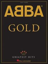 ABBA GOLD (GREATEST HITS) - EASY PIANO SONGBOOK 306820