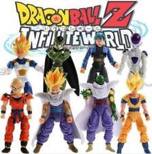 8Pcs/Set Dragonball Z Dragon Ball DBZ Joint Movable Action Figures Kids Toys New