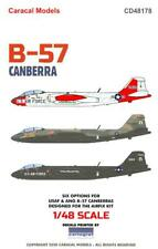 Caracal Decals 1/48 Martin B-57 Canberra Us Air Force & Air National Guard