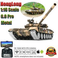 HengLong 1:16 Pro Germany Jagdpanther Model RC Tank Smoke Sound RTR 360° Turret