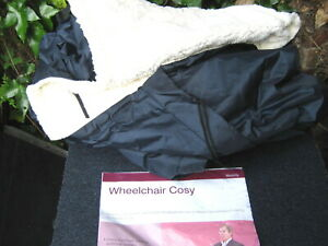 Waterproof Wheelchair Leg Toes Feet Cosy Warmer Cover Blanket Fleece Soft Warm