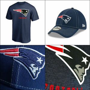 New England Patriots NFL Proven Winners T shirt + Stretch-fit Sideline Cap