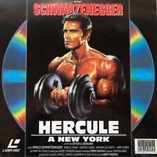 LASERDISC - HERCULE A NEW YORK - SWHARZENEGGER - VF PAL - ELIOT PRODUCTION