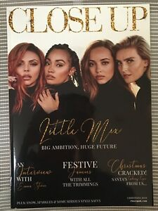 LITTLE MIX UK CLOSE UP MAGAZINE LITTLE MIX JADE PERRIE LEIGH JESY 2018