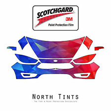 Ford Focus 2015-2018 PreCut 3M Scotchgard Paint Protection Film Clear Bra Kit