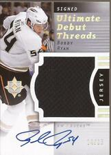BOBBY RYAN 2007-08 UD Ultimate Rookie Debut Threads Jersey Autograph #14/35