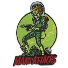 Mars Attacks Death Trooper Patch Iron On Halloween Horror Patch Retro Rockabilly