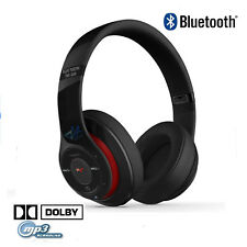 Cuffie Stereo Bluetooth Radio Fm Micro Sd Usb Design Beats Controltalk Wireless