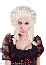 Sexy Platinum Blonde Burlesque Hair Cosplay Heat Resistant Party Costume Wig