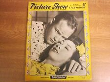 April 1958, PICTURE SHOW, Marlon Brando, Dirk Bogarde, Fernaddel, Anne Heywood.