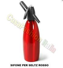 ISI SIFONE 1 LT PER SELTZ  SODA SODA ROSSO BAR BARMAN HORECA PROFESSIONALE