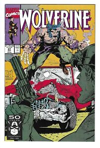WOLVERINE #47 -- LARRY HAMA! HI-GRADE! 1ST EDITION! 1991! NM