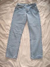 VTG Women's Size 9 Calvin Klein Jeans Straight Leg Double Stone Wash Inseam 30