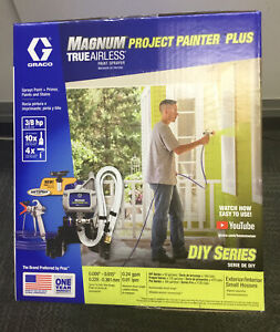 Graco Magnum Project Painter Plus DIY Series Airless Paint Sprayer NEW
