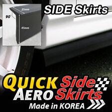7 Feet x2 Side Skirts Spoiler Chin Lip Splitter Valence Body Kit Wing for LEXUS
