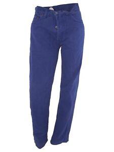 levi's 501 pantalone jeans donna blu denim dritto taglia it 42 w 28 l 36