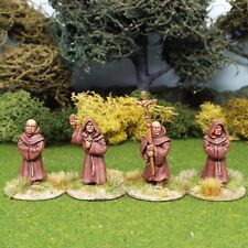 28mm  Medieval Friars 1 Lion Rampant Saga  cross and crescent. Unpainted.
