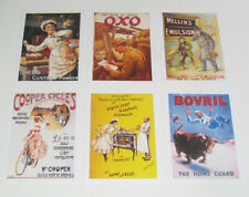 Lot de 6 Carte Postale Reproduction Affiche Publicitaire Ancienne Pub g