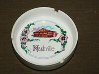 "VINTAGE TOBACCO 4"" ACROSS  MC ART CO NASHVILLE CERAMIC CIGARETTE ASHTRAY"