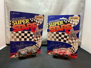 Matchbox NASCAR Racing Super Stars 1/64 Diecast Lot Davey Allison Sheppard