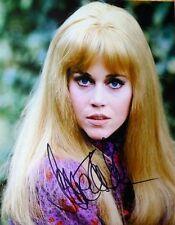 Jane Fonda signed 8x10 photo - Proof - Barbarella, Klute, Youth