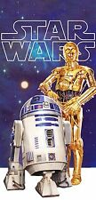 Star Wars Droids Beach Towel measures 28 x 58 inches