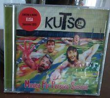 kuTso  – Musica Per Persone Sensibli Cd Still Sealed  Universal Sanremo 2015