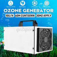10G/H Ozone Generator Ozonator Air Purifier Cleaner Ionizer Deodoriser Machine