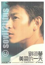 CD 2002 Andy Lau Liu De Hua A Better Day 劉德華 美麗的一天 #3598