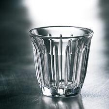 6x La Rochere Zinc Espressoglas Espressogläser Rillendekor 10 cl aus Frankreich