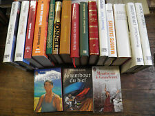 Lot de 18 livres de Bernard Clavel  L'or de la terre  maudits sauvages / Amarok